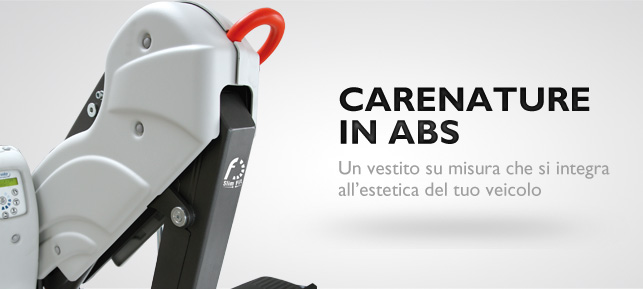 Nuove carenature in ABS