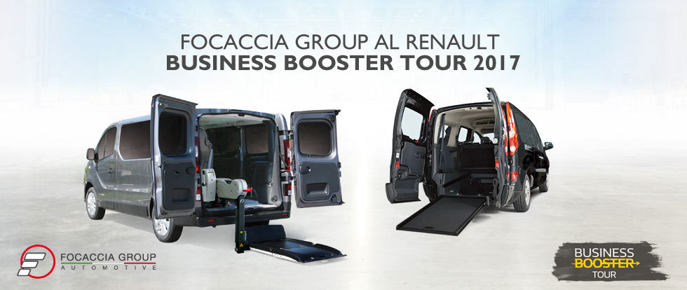 Focaccia Group al Renault Business Booster Tour 2017